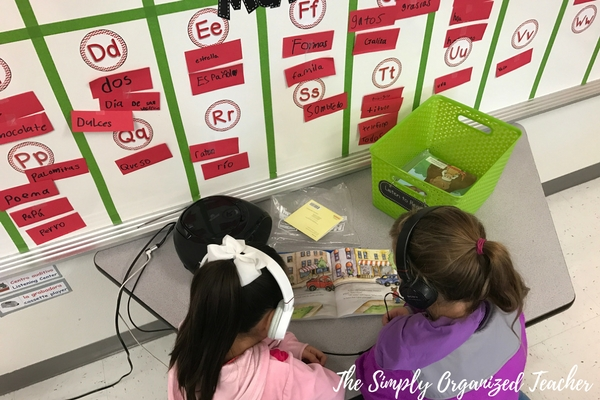 Literacy Stations: How to organize and manage Daily 5 stations.