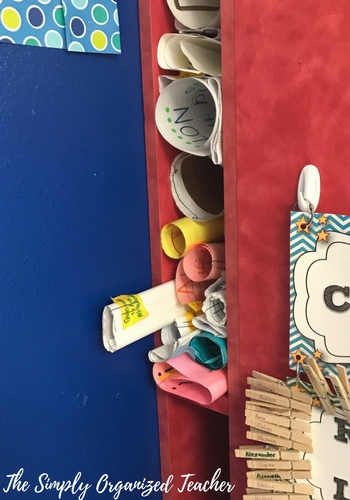 Anchor Chart storage ideas
