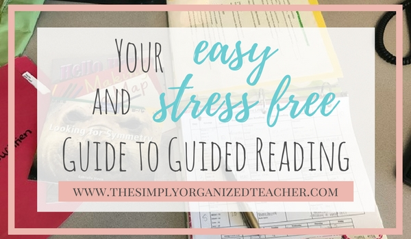 Guided Reading Lesson Plan guide. This post helps you organized your guided reading lesson plans efficiently and effectively.