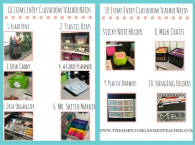 Classroom Setup Elementary- round up of classroom setup ideas