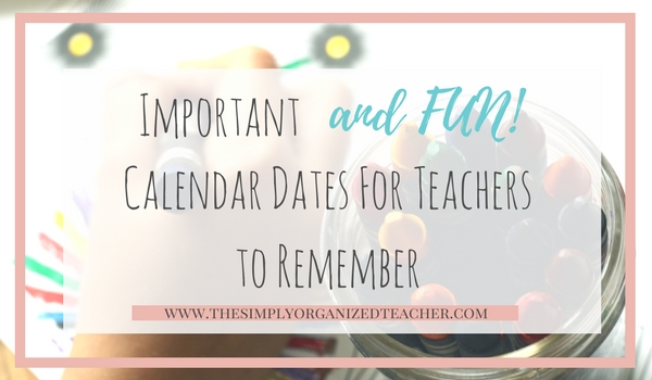 Classroom teachers can build community by celebrating important and fun holidays. This blog shares 30+ holidays you can incorporate in your lesson plans.