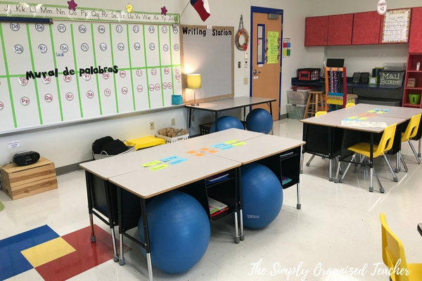 Flexible Seating Ideas In The Elementary Classroom