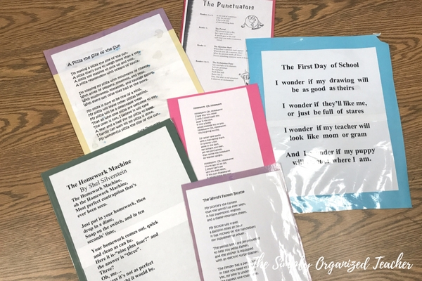 Lesson Ideas for teaching poetry to 2nd through 5th grade classes.