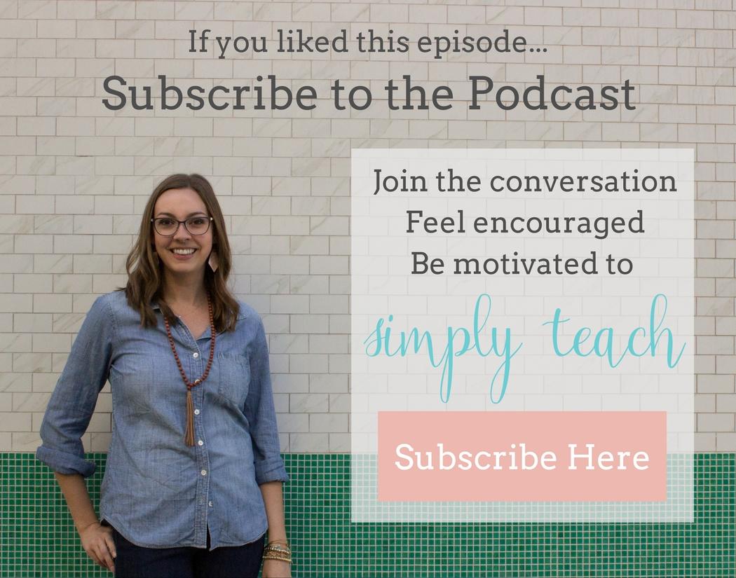Simply Teach Podcast: A podcast for teachers, by teachers